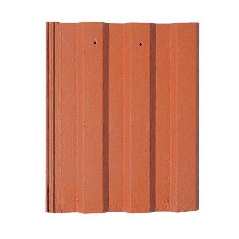 Tigla de beton 1/1 Bramac Markant, rosu caramiziu