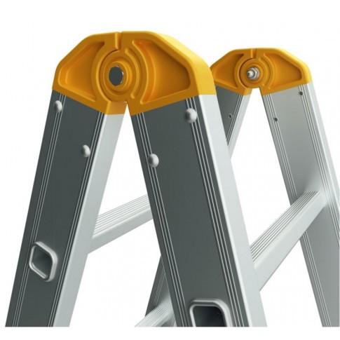 Scara aluminiu Forte 2 x 6 trepte