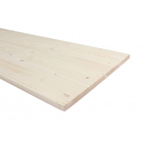 Panou lemn molid calitate B, 2500 x 300 x 18 mm