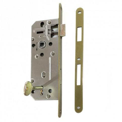 Broasca mare pentru usa interior, Eco Euro Doors, 18 x 240 x 69.5 mm + placuta toc + 1 cheie simpla