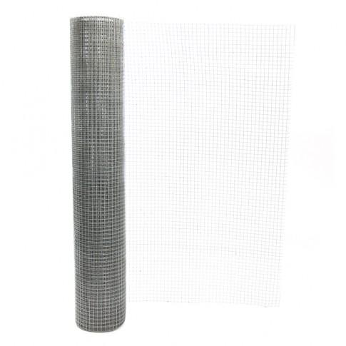 Plasa gard ornamental Volifort, zincata, 1 x 10 m (0,9 x 16 x 16 mm)