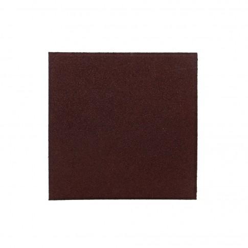 Pavele de cauciuc rezidentiale Polteks, rosu, 500 x 500 x 12 mm
