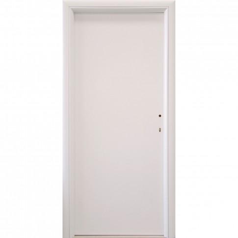 Usa interior celulara, Eco Euro Doors R80, stanga, alb 2, 202 x 86 x 4 cm cu toc