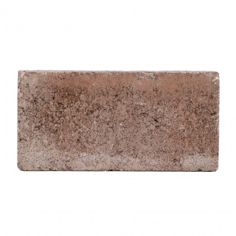 Pavaj economic antichizat, dreptunghi, rosu, 200 x 100 x 40 mm