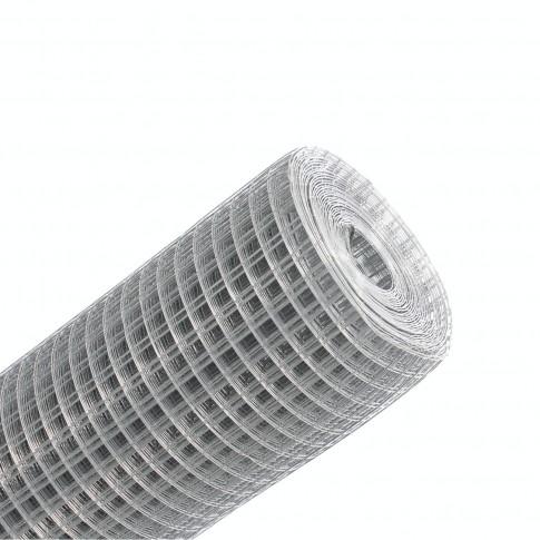 Plasa gard ornamental Grunman, zincata, 0.5 x 10 m (0.8 x 13 x 13 mm)