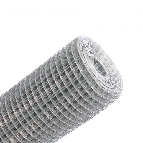 Plasa gard ornamental Grunman, zincata, 1 x 10 m (0,8 x 13 x 13 mm)