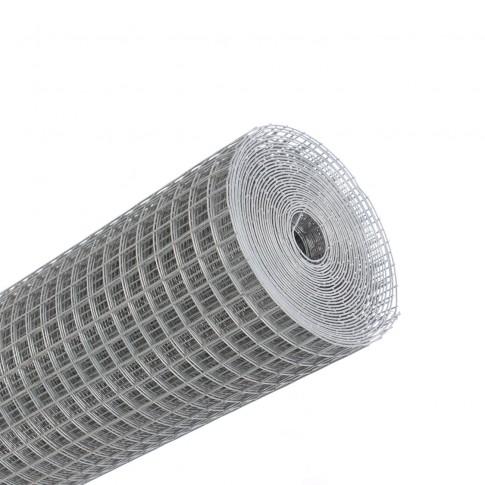 Plasa gard ornamental Grunman, zincata, 1 x 10 m (1,4 x 19 x 19 mm)