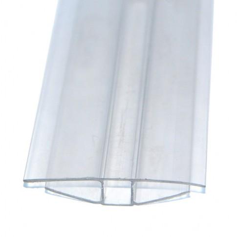 Profil policarbonat H, clar, 6 x 6000 mm