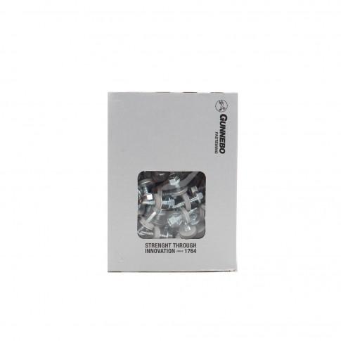 Surub pentru tigla metalica, autoforant, zincat, 4.8 x 19 mm, 250 bucati