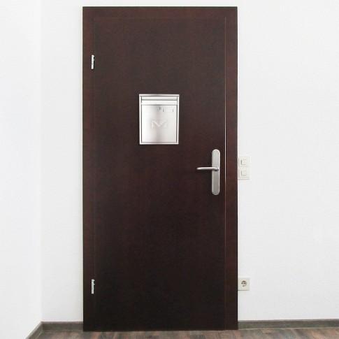 Cutie postala pentru interior Rottner Como T04701, inox, 32 x 25 x 8.5 cm