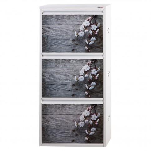 Pantofar Slim 3850, alb + spring, 50 x 105 x 15 cm, 1C