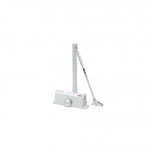Amortizor usa, hidraulic, Omega TS 603, argintiu, maxim 65 kg
