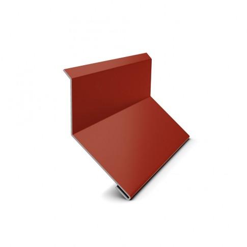 Bordura la perete Bilman, rosu lucios (RAL 3011), 0.4 mm