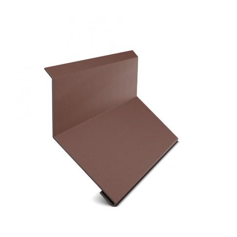 Bordura la perete Bilka, maro mat (RAL 8017), 0.5 mm