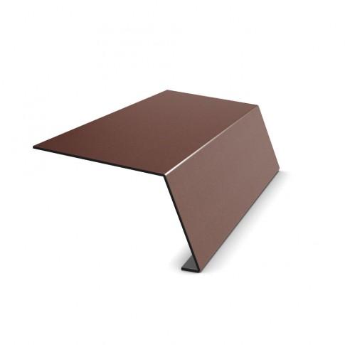 Bordura streasina Bilka, maro mat (RAL 8017), 0.5 mm