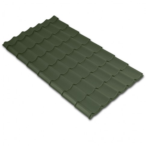 Tigla metalica Baudeman Clasic 35, verde mat (RAL 6020)