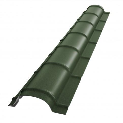 Coama mica Baudeman, verde mat (RAL 6020), 2000 x 230 x 0.45 mm