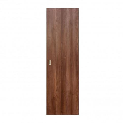 Usa culisanta Eco Euro Doors, plina, nuc, 95 x 206 cm + maner ingropat