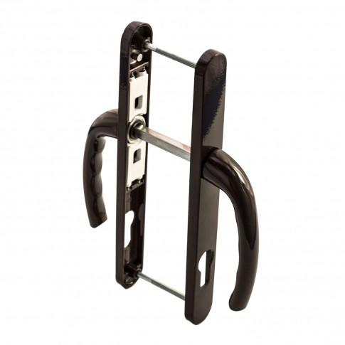 Maner usa exterior, cu arc, Safir, maro, 85 mm, 230 x 25 mm