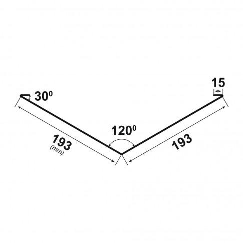 Dolie Bilka, gri mat (RAL 7024), 0.5 mm