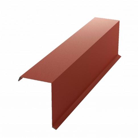Bordura fronton Bilka rosu inchis mat (RAL 3009) 2000 x 312.5 x 0.5 mm