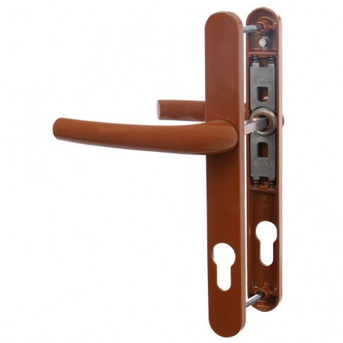 Maner usa interior, cu arc, Safir, stejar, 92 mm, 210 x 25 mm