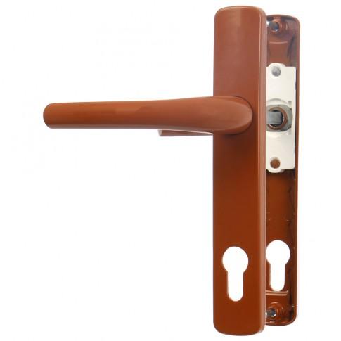 Maner usa interior, cu arc, Safir, stejar, 92 mm, 210 x 35 mm