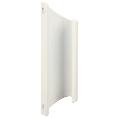 Maner usa balcon, tip scoica, alb, 92 x 12 mm