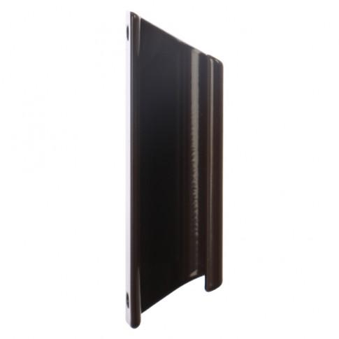 Maner usa balcon, tip scoica, maro, 92 x 27.36 mm