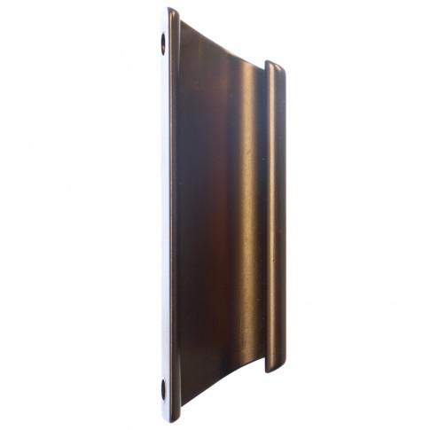 Maner usa balcon, tip scoica,bronz, 92 x 27.36 mm