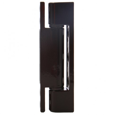 Balama simpla pentru ferestre, maro, 90 x 15 mm