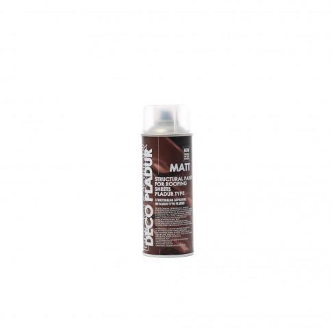 Spray corector tigla metalica, rosu inchis mat (RAL3009), 400 ml