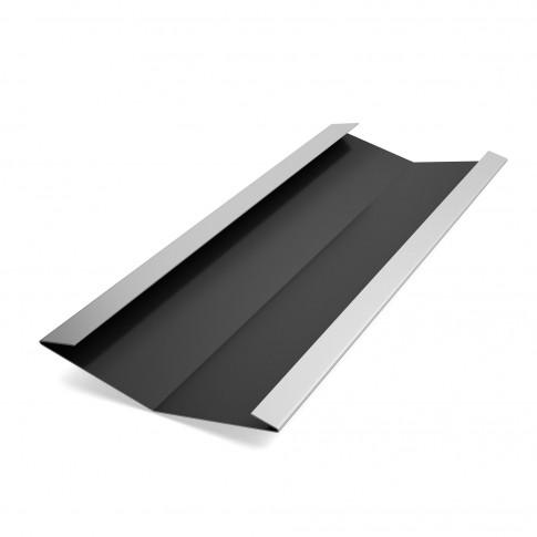 Dolie Baudeman, negru lucios (RAL 9005), 0.45 mm