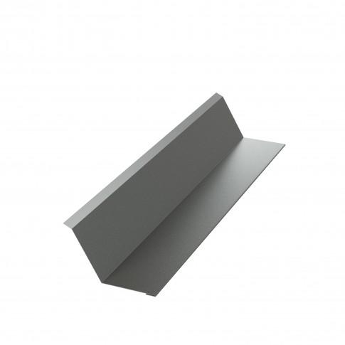 Bordura la perete Bilka, gri mat (RAL 7024), 0.5 mm
