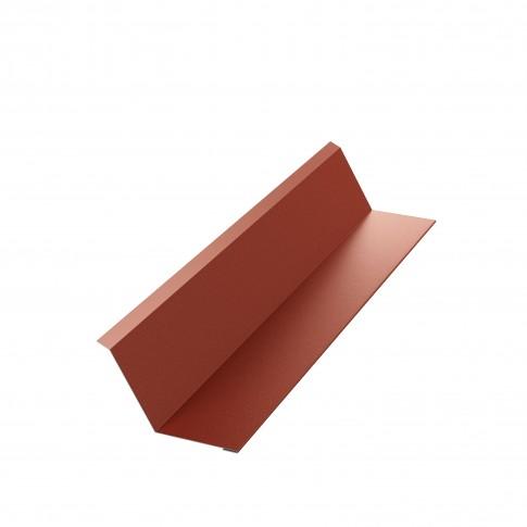 Bordura la perete Bilka, rosu inchis mat (RAL 3009), 0.5 mm