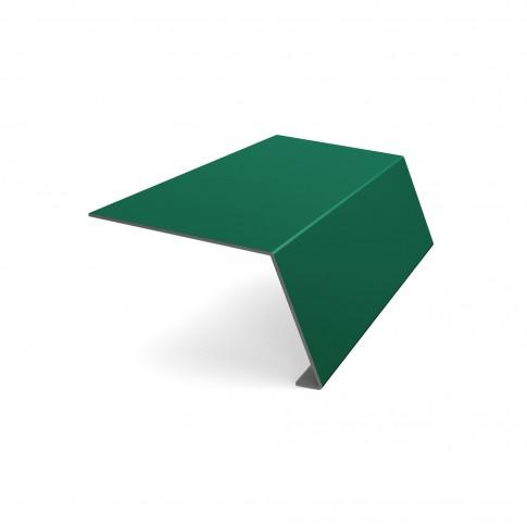 Bordura streasina Baudeman, verde lucios (RAL 6005), 0.45 mm