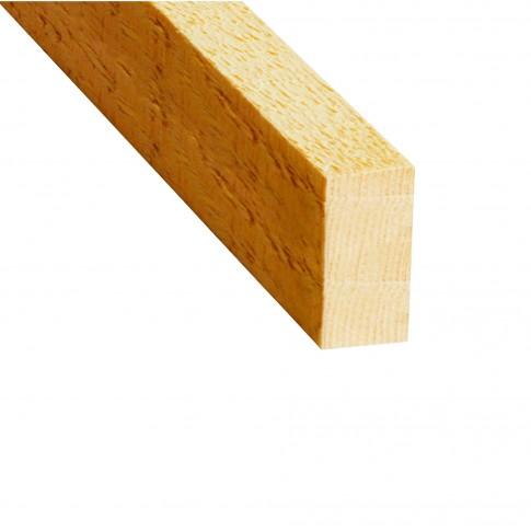 Rigla nerindeluita lemn pin 2400 x 50 x 24 mm