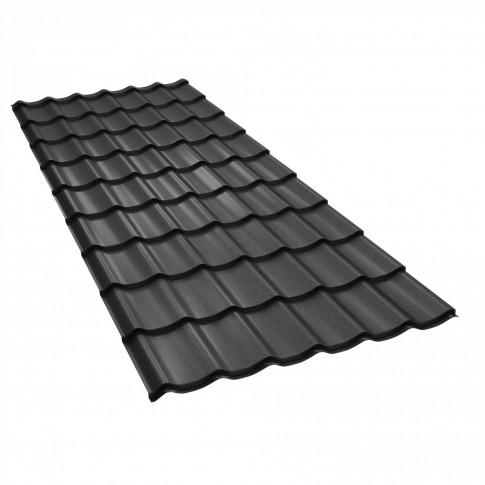 Tigla metalica Baudeman Clasic 35, negru mat (RAL 9005)