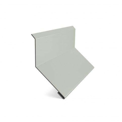 Bordura la perete Baudeman alb (RAL 9002) 0.45 mm
