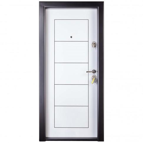 Usa interior metalica Prestige 1 lux 131, stanga, alb, 200 x 88 cm