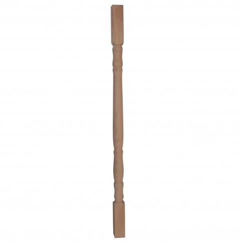 Balustru strunjit fag, Promobila, natur, 920 x 43 x 43 mm