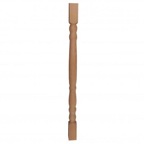 Balustru strunjit fag, Promobila, natur, 750 x 43 x 43 mm