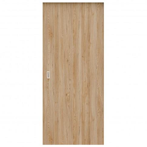 Usa de interior culisanta Eco Euro Doors Maria, plina, stejar, 85 x 206 cm + maner ingropat