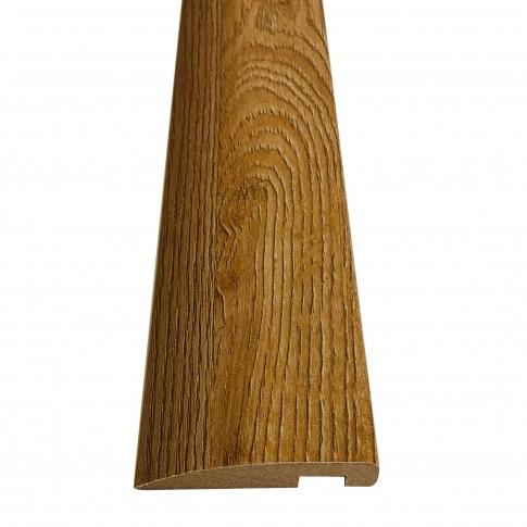 Pervaz pentru usa interior Maria, stejar cu fibra texturata, 12 x 60 mm, set 3 bucati