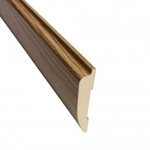 Pervaz pentru usa interior Maria, stejar cu fibra texturata, 12 x 65 mm, set 3 bucati