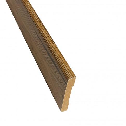 Pervaz pentru usa interior Maria, stejar cu fibra texturata, 8 x 60 mm, set 3 bucati