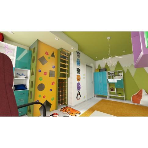 Usa interior celulara, Eco Euro Doors R80 Doina, stanga, alb, 202 x 86 x 4 cm cu toc rotunjit