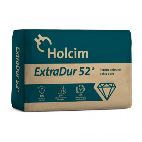Ciment ExtraDur CEM I 52.5R sac 40 kg