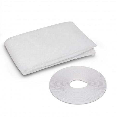 Plasa protectie insecte / tantari, Delight, pentru ferestre, poliester, alb, 100 x 130 cm