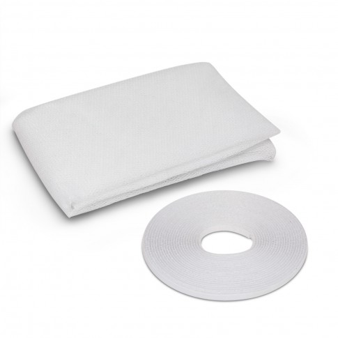 Plasa protectie insecte / tantari, Delight, pentru ferestre, poliester, alb, 100 x 100 cm